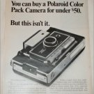 1968 Polaroid Land Automatic 250 Camera ad