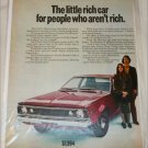 1970 American Motors Hornet car ad