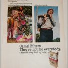 1971 Camel Filters Cigarette Sculptor ad