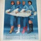 1958 Bonnie Doon Hosiery ad