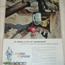 General Telephone & Electronics Spadework ad