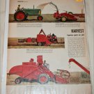 1954 Harvesting Machines article