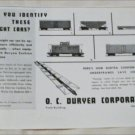 O. C. Duryea Corporation ad