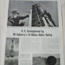 1951 Oil Industry Information ad