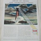 Olin Industries Lighthouse ad