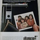 1969 Polaroid Countdown Land Cameras Girls ad