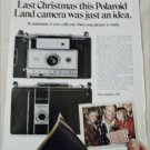 1969 Polaroid Countdown 350 Camera Christmas ad