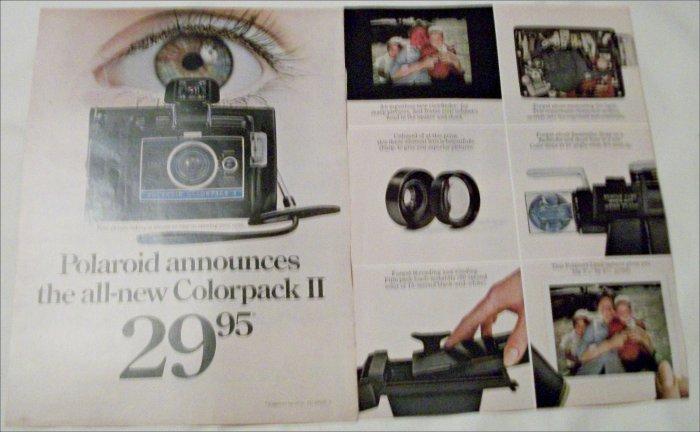 1969 polaroid colorpack ii camera ad 5. Black Bedroom Furniture Sets. Home Design Ideas