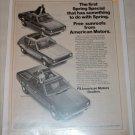 1971 American Motors Hornet, Gremlin & Sportabout car ad