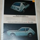 1971 American Motors Gremlin car ad color