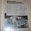 1971 American Motors Gremlin car ad b&w
