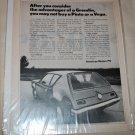 1971 American Motors Gremlin car ad b&w