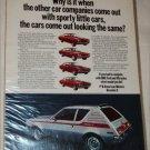 1971 American Motors Gremlin X car ad