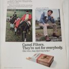 1971 Camel Filters Cigarette Major Hocum ad
