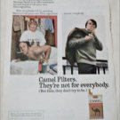 1972 Camel Filters Cigarette Maxines Massage Parlor ad