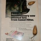 1971 Camel Filters Fishing Lure ad