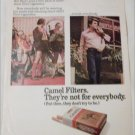 1972 Camel Filters Cigarette Mr Stanley's Hot Pants ad