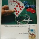 1972 Camel Cigarette Poker ad