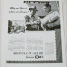 1948 Houston Pipe Line Company ad