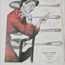 1950 Holmes & Edwards Silverware ad