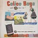 1948 Percy Kent Bag Company ad