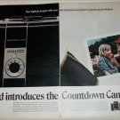 1969 Polaroid Countdown Cameras Girls ad