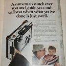 1970 Polaroid Automatic 350 Camera Lifeguard ad