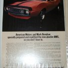 1971 American Motors Donohue Javelin-AMX 2 dr ht car ad