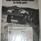 1971 American Motors Jeep ad