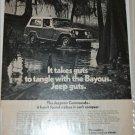 1971 American Motors Jeepster Commando Bayous ad