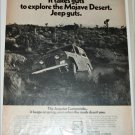 1971 American Motors Jeepster Commando Mojave Desert ad