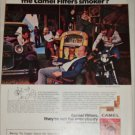 1974 Camel Filters Cigarette Spot the Camel Smoker ad #1
