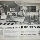 1955 Fir Plywood Association ad
