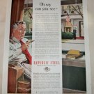 1951 Republic Steel Oh Say ad