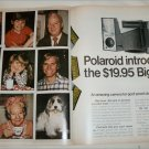 1970 Polaroid Big Shot Camera ad