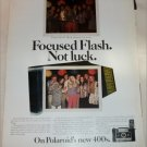 1971 Polaroid 400's Camera ad