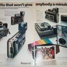 1971 Polaroid 400's Cameras Christmas ad