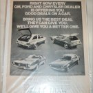 1971 American Motors Lineup car ad #2