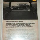 1971 American Motors Matador 4 dr stationwagon car ad