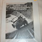 1971 American Motors Jeep Universal ad
