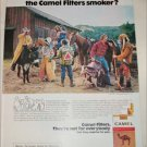 1974 Camel Filters Cigarette Spot the Camel Smoker ad #2