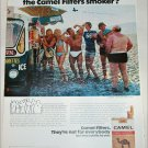 1974 Camel Filters Cigarette Spot the Camel Smoker ad #3