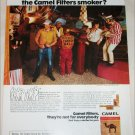 1974 Camel Filters Cigarette Spot the Camel Smoker ad #5