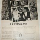 1963 Look Magazine ad featuring JFK sr & jr