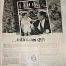 1963 Look Magazine ad featuring JFK sr & jr