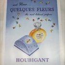 Houbigant Quelques Fleurs Perfume ad