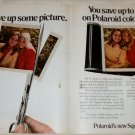 1971 Polaroid Square Shooter Camera Girls ad