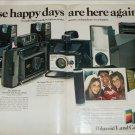 1972 Polaroid Land Cameras ad
