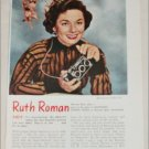 Realist Stereo Camera ad featuring Ruth Roman
