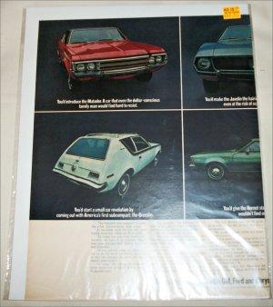 1971 American Motors Lineup car ad #3